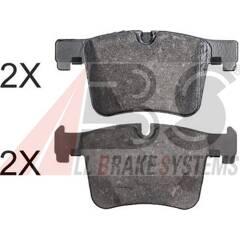 Front brake pad set (4 pcs) A.B.S. - 37887