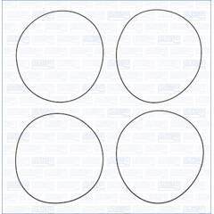 O-Ring Set, cylinder sleeve AJUSA - 60010300
