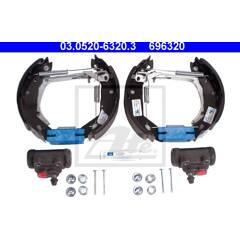 Brake Set, drum brakes ATE - 03.0520-6320.3