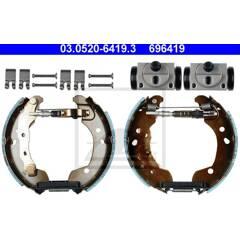 Brake Set, drum brakes ATE - 03.0520-6419.3