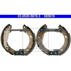 Roue-cylindre de frein tambour frein rbz bremstrommeln Essieu Arrière Arrière NK 803611