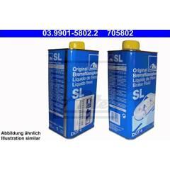 Liquide de frein DOT4 - 1L ATE - 03.9901-5802.2