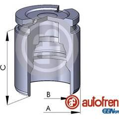 Piston (étrier de frein) AUTOFREN SEINSA - D02519