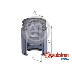 Piston (étrier de frein) AUTOFREN SEINSA - D025251