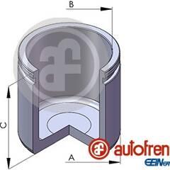 Piston (étrier de frein) AUTOFREN SEINSA - D02569