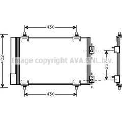 Condenseur de climatisation AVA QUALITY COOLING - CNA5231D