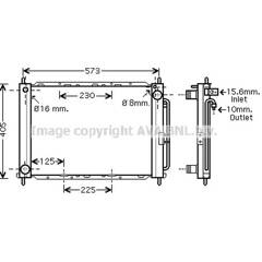 Module de refroidissement AVA QUALITY COOLING - RTM405
