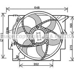 Ventilateur (refroidissement moteur) AVA QUALITY COOLING  - BW7515