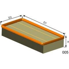Air Filter BOLK - BOL-B031154