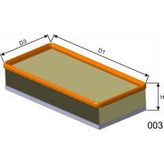 Air Filter BOLK - BOL-B031276