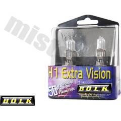 Jeu de 2 ampoules H1 Extra Vision  BOLK - BOL-86444Z