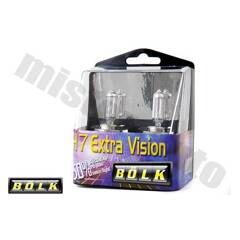 Jeu de 2 Ampoules H7 Extra Vision BOLK - BOL-86445Z