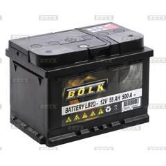 Batterie de démarrage 60ah / 500A BOLK - BOL-E051054