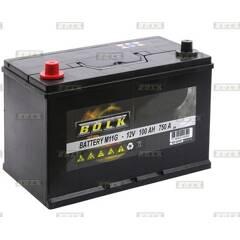 Batterie de démarrage 100ah / 750A BOLK - BOL-E051065