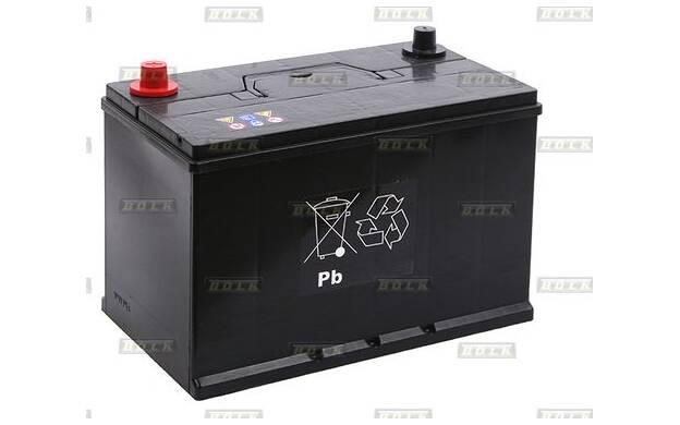 Batterie de démarrage 100ah / 750A