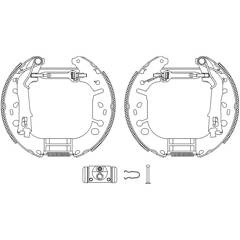 Brake Set, drum brakes BOLK - BOL-G091138