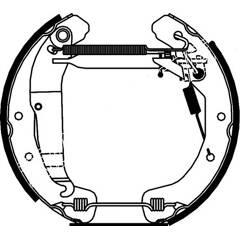 Brake Set, drum brakes BOLK - BOL-I020198
