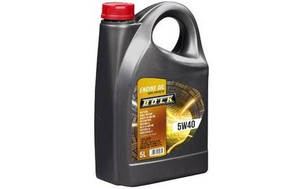 Engine Oil BOLK 5W40 - 5 Liters