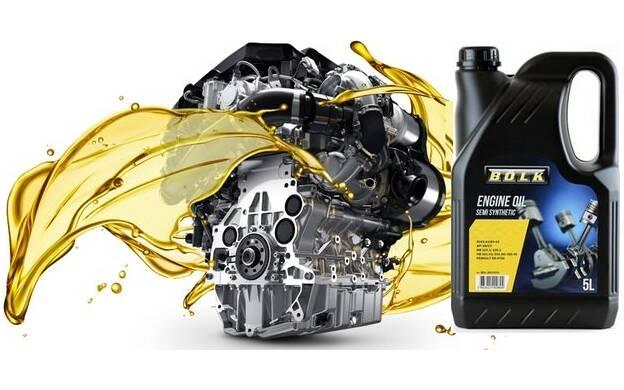 Engine Oil BOLK 5W40 C3 - 5 Liters