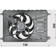Radiator Fan BOLK - BOL-C021413