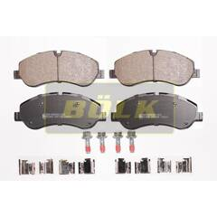Jeu de 4 plaquettes de frein à disque BOLK - BOL-K010020