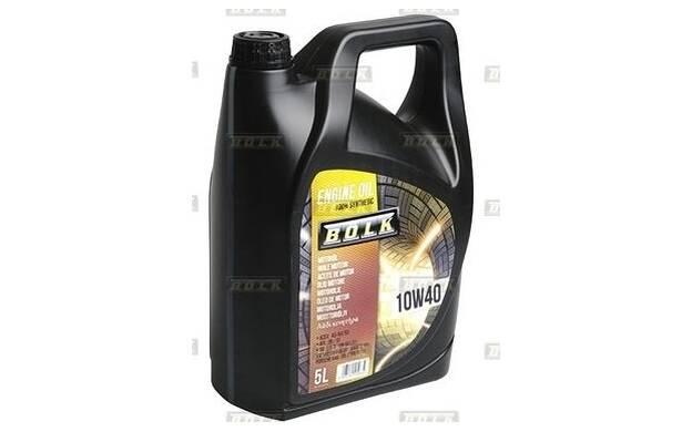 Motorolie BOLK 10w40 - 5 Liter