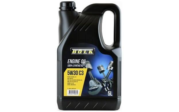 Motorolie BOLK 5w30 C3 - 5 Liter