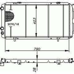 Radiateur BOLK - 07175010