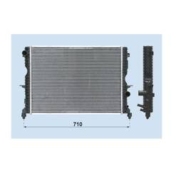 Radiator, engine cooling BOLK - BOL-C011199
