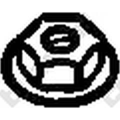 Écrou (collecteur des gaz d'échappement) BOSAL - 258-038