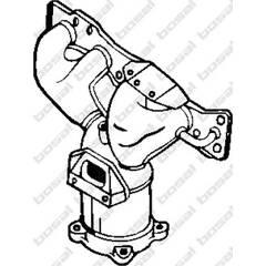Katalysator BOSAL - 090-548