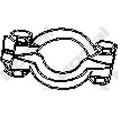 Kit d'assemblage (catalyseur) BOSAL - 254-950