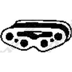 Rubber Buffer, silencer BOSAL - 255-092