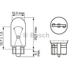Ampoule WY5W Pure Light BOSCH - 1 987 302 241