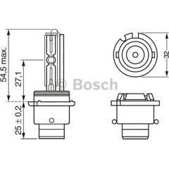 Bulb D2R Xenon BOSCH - 1 987 302 903