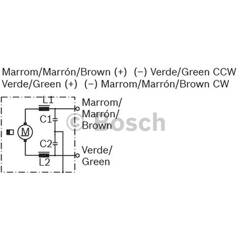 Electric Motor BOSCH - F 006 B20 179