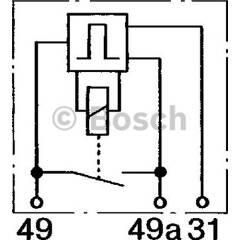 Flasher Unit BOSCH - 0 335 323 003