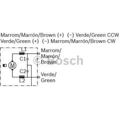 Moteur électrique BOSCH - F 006 B20 179