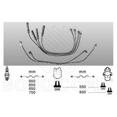 Ignition Cable Kit BOUGICORD - 4086