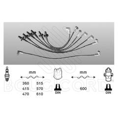 Ignition Cable Kit BOUGICORD - 6407