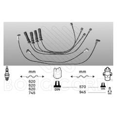 Ignition Cable Kit BOUGICORD - 6435