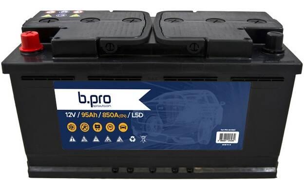 Batterie de démarrage 95 Ah 850 A BPROAUTO PRO 0418005