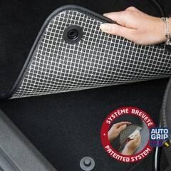 Jeu de 4 tapis sur-mesure moquette pour Renault BPROAUTO - PRO-0718058