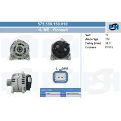 Alternateur BV PSH - 575.589.150.010