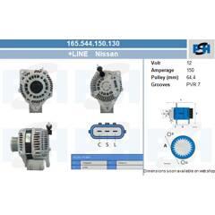 Alternator BV PSH - 165.544.150.130