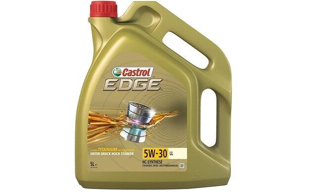 Engine Oil EDGE TITANIUM LL 5W30 - 5 Liters