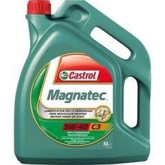 Motorolie MAGNATEC 5W40 C3 - 5 Liter CASTROL - 14C275