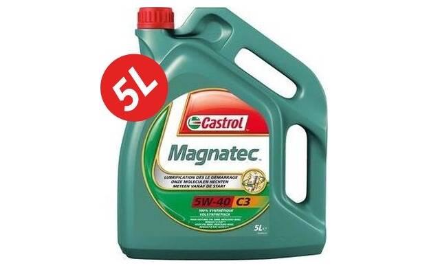 Motorolie MAGNATEC 5W40 C3 - 5 Liter