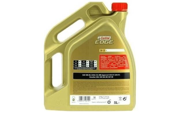 Motorolie EDGE TITANIUM LL 5W30 - 5 Liter