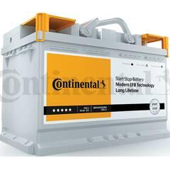 Batterie de démarrage 70ah / 650A CONTINENTAL - 2800012001280